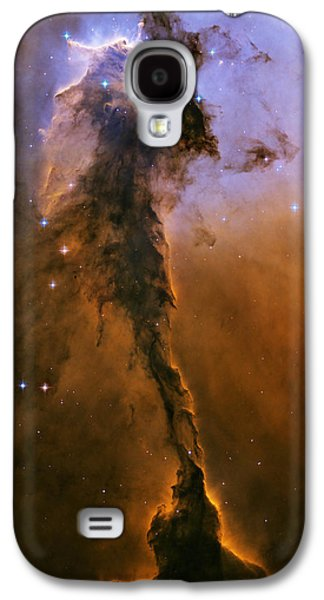 Stellar Paintings Galaxy S4 Cases - Eagle Nebula Galaxy S4 Case by Nasa