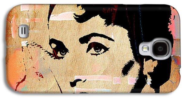 Elizabeth Galaxy S4 Cases - Elizabeth Taylor Collection Galaxy S4 Case by Marvin Blaine