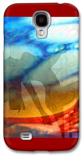 Female Body Galaxy S4 Cases - Exotic Dancer 1 Galaxy S4 Case by Ellen Henneke