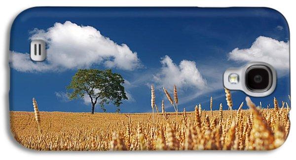 Field. Cloud Galaxy S4 Cases - Fields of Grain Galaxy S4 Case by Mountain Dreams