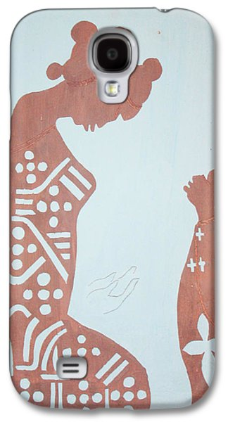 Drawing Ceramics Galaxy S4 Cases - Finding Of The Lord Jesus In The Temple Galaxy S4 Case by Gloria Ssali