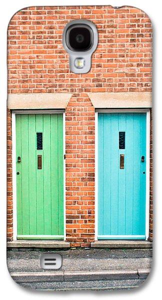 Entrance Door Galaxy S4 Cases - Front doors Galaxy S4 Case by Tom Gowanlock