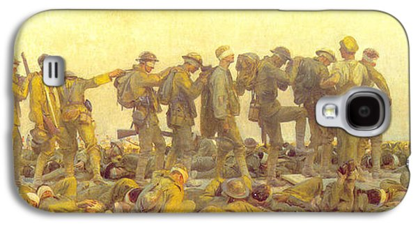 Wwi Paintings Galaxy S4 Cases - Gassed Galaxy S4 Case by John Singer Sargent