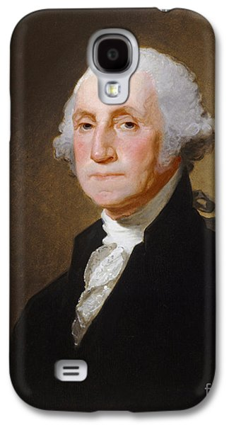 Leaders Galaxy S4 Cases - George Washington Galaxy S4 Case by Gilbert Stuart