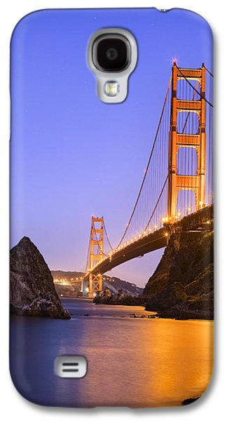 Big Sur Ca Galaxy S4 Cases - Golden gate bridge Galaxy S4 Case by Emmanuel Panagiotakis