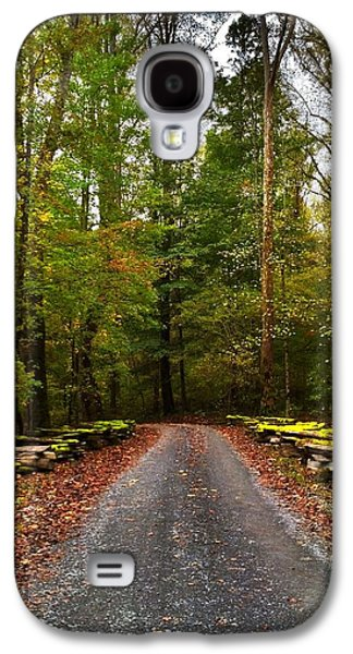 Autumn Landscape Jewelry Galaxy S4 Cases - Great Smoky Mountains Galaxy S4 Case by Janice Spivey