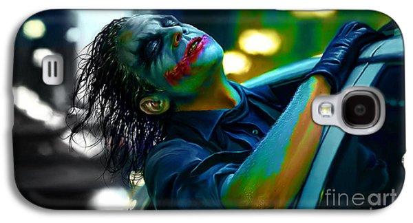 Heath Ledger Galaxy S4 Case by Marvin Blaine