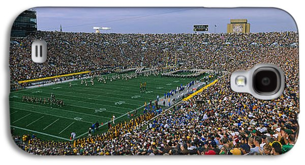 High Angle View Of A Football Stadium Galaxy S4 Case by Panoramic Images