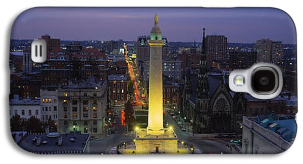 High Angle View Of A Monument Galaxy S4 Case by Panoramic Images