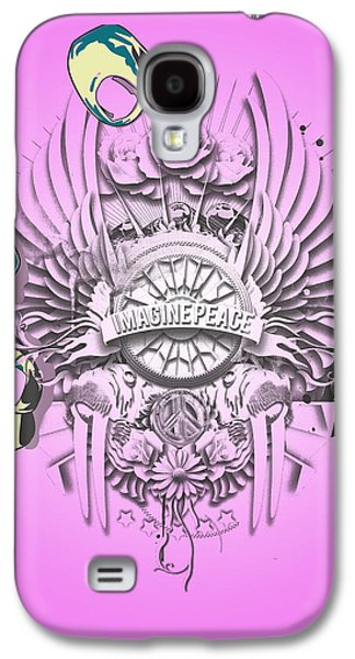 Personality Galaxy S4 Cases - Imagine Lennon Galaxy S4 Case by Pop Culture Prophet