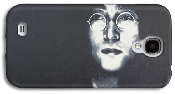 Ringo Starr Paintings Galaxy S4 Cases - Imagine Galaxy S4 Case by Luis Ludzska