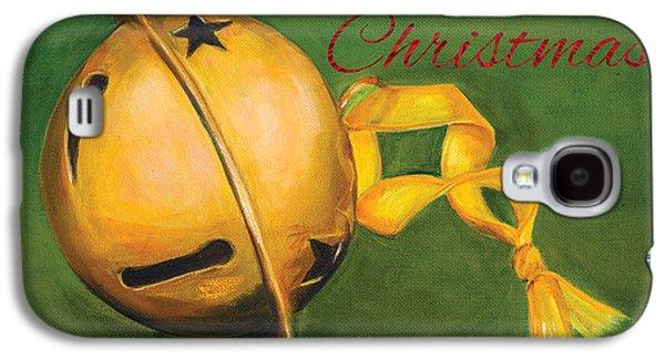 Christmas Art Galaxy S4 Cases - Jingle Bells Galaxy S4 Case by Iris Richardson