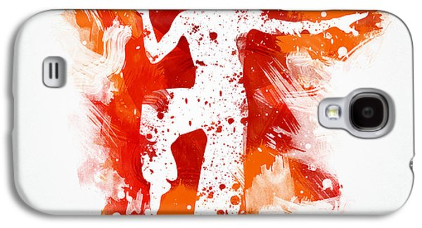 Punch Galaxy S4 Cases - Karate Fighter Galaxy S4 Case by Aged Pixel