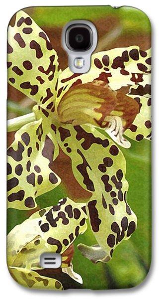 Leopard Orchids Galaxy S4 Case by Ellen Henneke