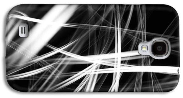 Swirly Galaxy S4 Cases - Lines  Galaxy S4 Case by Les Cunliffe