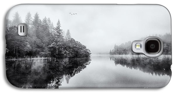 Misty Prints Galaxy S4 Cases - Loch Ard Galaxy S4 Case by John Farnan