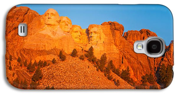 President Of Usa Galaxy S4 Cases - Low Angle View Of A Monument, Mt Galaxy S4 Case by Panoramic Images
