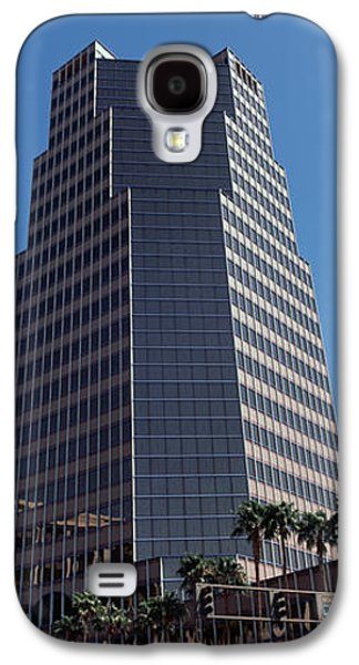 Road Travel Galaxy S4 Cases - Low Angle View Of An Office Building Galaxy S4 Case by Panoramic Images