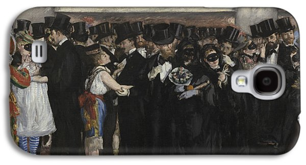Party Galaxy S4 Cases - Masked Ball at the Opera Galaxy S4 Case by Edouard Manet