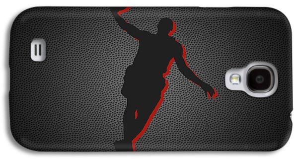 Lebron Galaxy S4 Cases - Miami Heat Galaxy S4 Case by Joe Hamilton