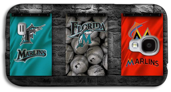 Marlin Galaxy S4 Cases - Miami Marlins Galaxy S4 Case by Joe Hamilton