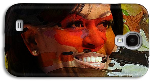 Michelle Obama Galaxy S4 Case by Marvin Blaine