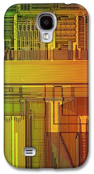 Microprocessor Components Galaxy S4 Case by Antonio Romero