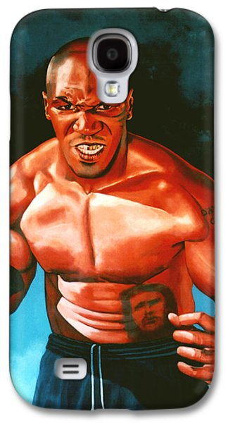 Mike Tyson Galaxy S4 Case by Paul Meijering