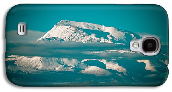Greeting Cards Pyrography Galaxy S4 Cases - Mount Gurla Mandhata Galaxy S4 Case by Raimond Klavins
