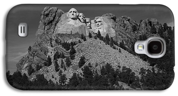Statue Portrait Galaxy S4 Cases - Mount Rushmore Galaxy S4 Case by Frank Romeo