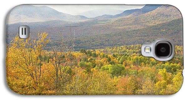Maine Mountains Galaxy S4 Cases - Mountains In Fall Mount Blue State Park Weld Maine Galaxy S4 Case by Keith Webber Jr