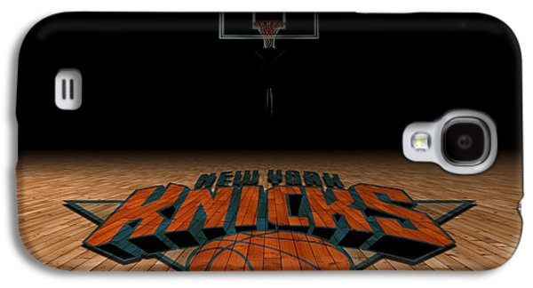 Dunk Galaxy S4 Cases - New York Knicks Galaxy S4 Case by Joe Hamilton