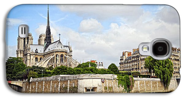 Notre Dame De Paris Galaxy S4 Case by Elena Elisseeva