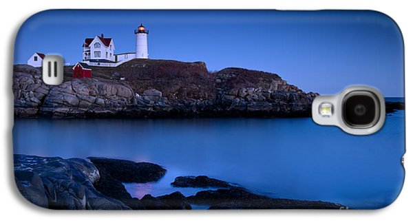 Maine Lighthouses Galaxy S4 Cases - Nubble Lighthouse Galaxy S4 Case by Brian Jannsen