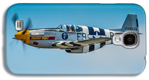 P51 Photographs Galaxy S4 Cases - P-51 Mustang Galaxy S4 Case by Puget  Exposure