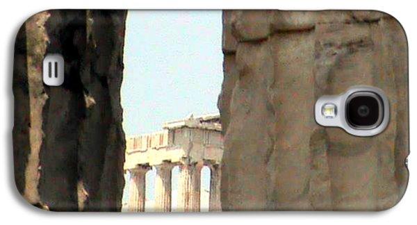 Ancient Sculptures Galaxy S4 Cases - Parthenon  Galaxy S4 Case by Likourgos Balodimos