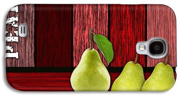 Pears Galaxy S4 Cases - Pear Farm Galaxy S4 Case by Marvin Blaine