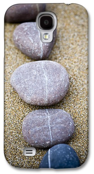 Contemplative Photographs Galaxy S4 Cases - Pebbles Galaxy S4 Case by Frank Tschakert