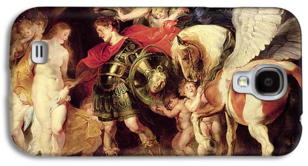 Perseus Liberating Andromeda Galaxy S4 Case by Peter Paul Rubens