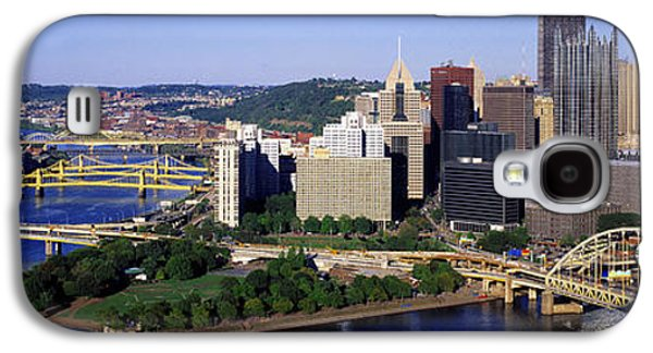 Business Galaxy S4 Cases - Pittsburgh, Pennsylvania, Usa Galaxy S4 Case by Panoramic Images