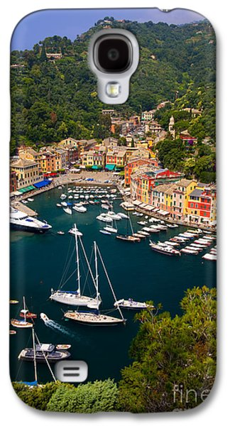 Boat Photographs Galaxy S4 Cases - Portofino Galaxy S4 Case by Brian Jannsen