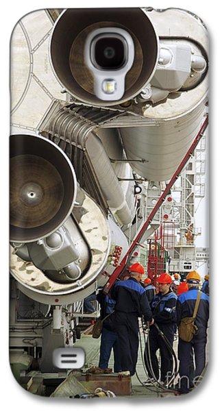 Enterprise Galaxy S4 Cases - Proton-m Rocket Before Launch Galaxy S4 Case by RIA Novosti