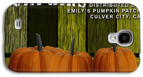 Pumpkin Patch Galaxy S4 Case by Marvin Blaine