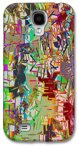 Abstract Digital Mixed Media Galaxy S4 Cases - Pure abstract view carefully and find some thing new every time each persons imagination is unique Galaxy S4 Case by Navin Joshi