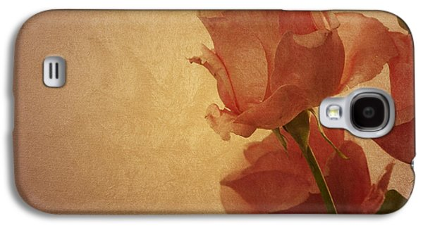 Abstracts Pyrography Galaxy S4 Cases - Roses Galaxy S4 Case by Jelena Jovanovic