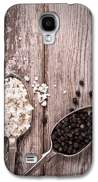 Style Life Photographs Galaxy S4 Cases - Salt and pepper vintage Galaxy S4 Case by Jane Rix