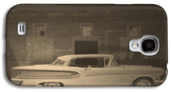 Scene Of The Crime Galaxy S4 Case by Edward Fielding