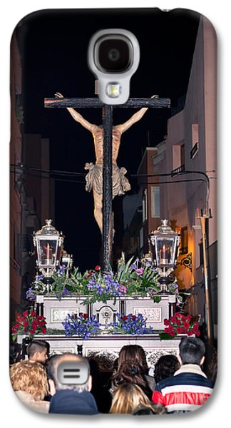 Holy Week Galaxy S4 Cases - Semana Santa Holy Week procession in Spain Galaxy S4 Case by Jan Mika