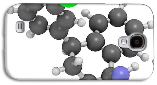Sertraline Antidepressant Drug Molecule Galaxy S4 Case by Molekuul