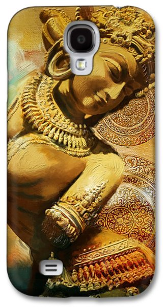 Corporate Task Art Force Galaxy S4 Cases - South Asian Art Galaxy S4 Case by Corporate Art Task Force